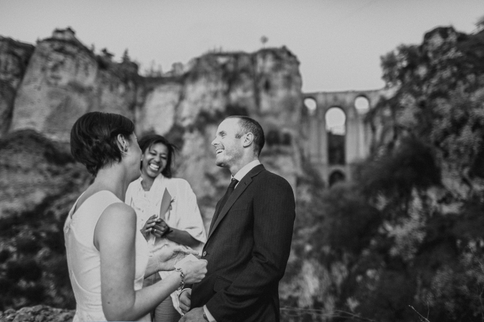 destination wedding photographer ronda