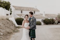 wedding at cortijo el guarda