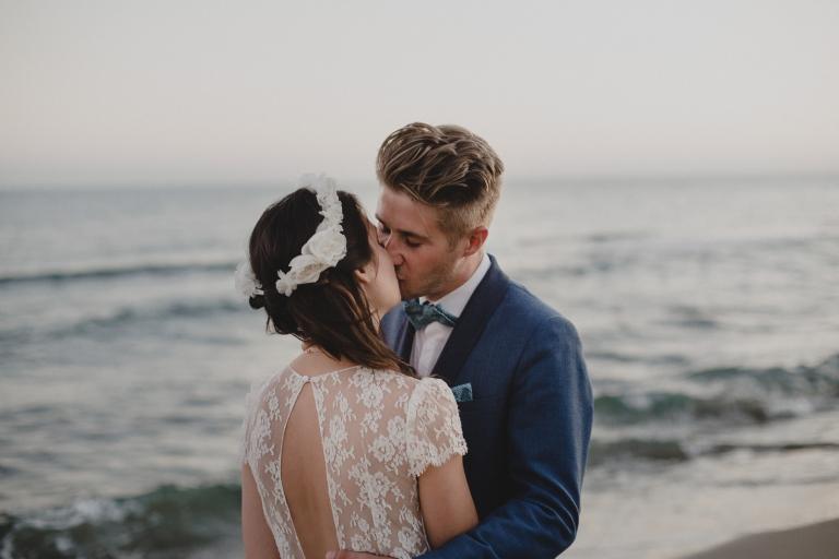 wedding at puente romano beach resort