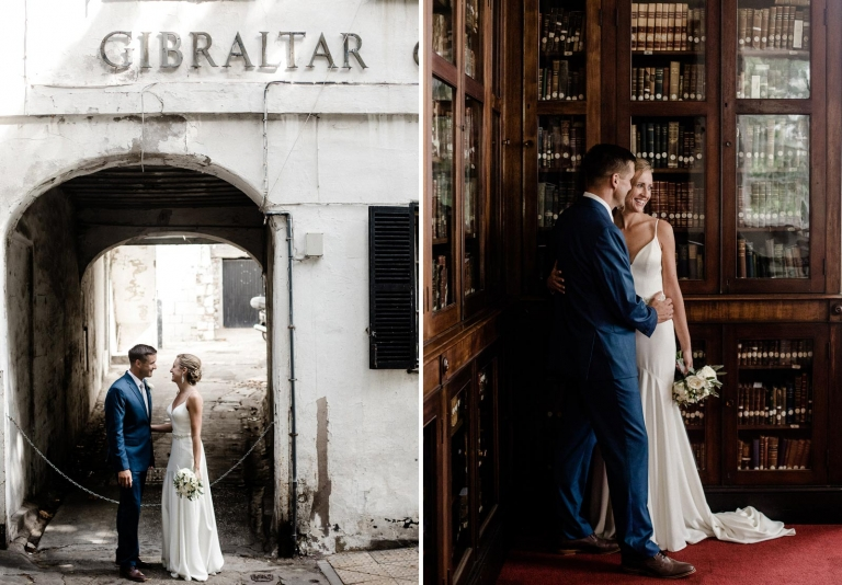 elopement wedding in gibraltar