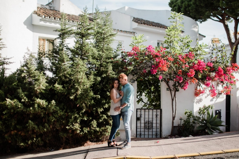 couple photoshoot in marbella